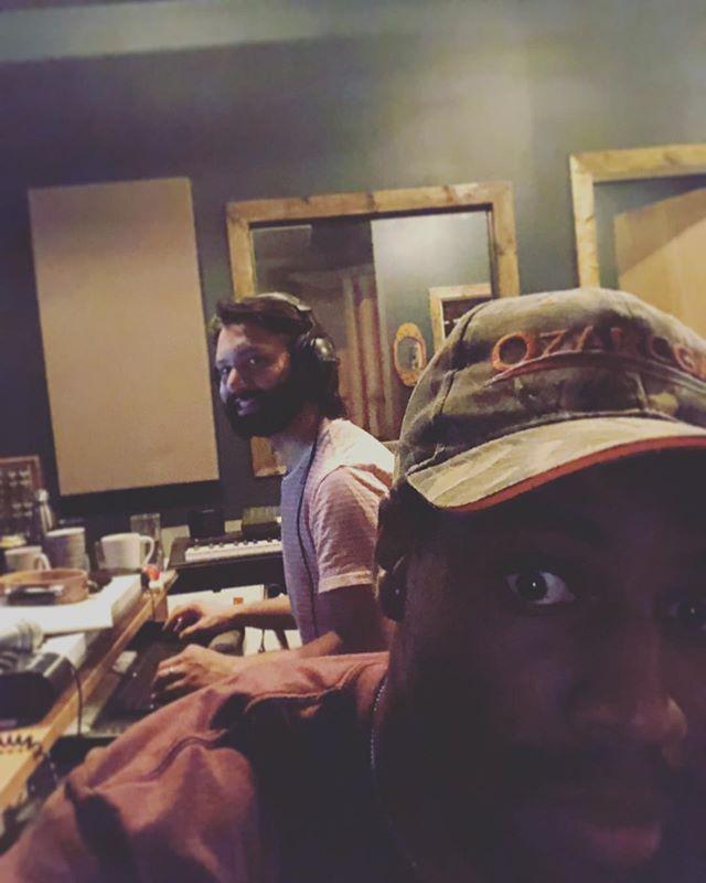 Working on new tunes with my bro @randallkent #nashville #deafdogstudios #chilledmusic #singersongwriters