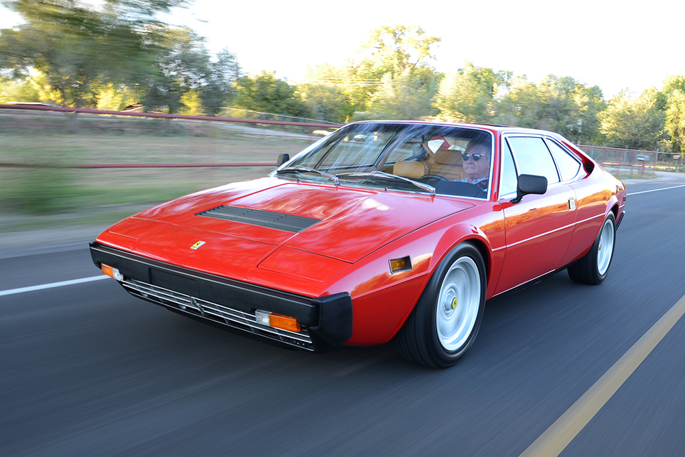Ferrari 308 GT4 high performance engine overhaul