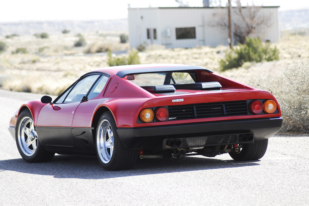 Ferrari 512BB Restomod with high performance engine, brakes, wheels and suspension