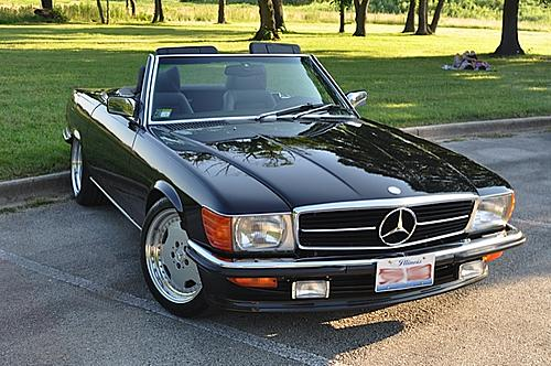 1986 mercedes benz 560sl carobu high performance parts