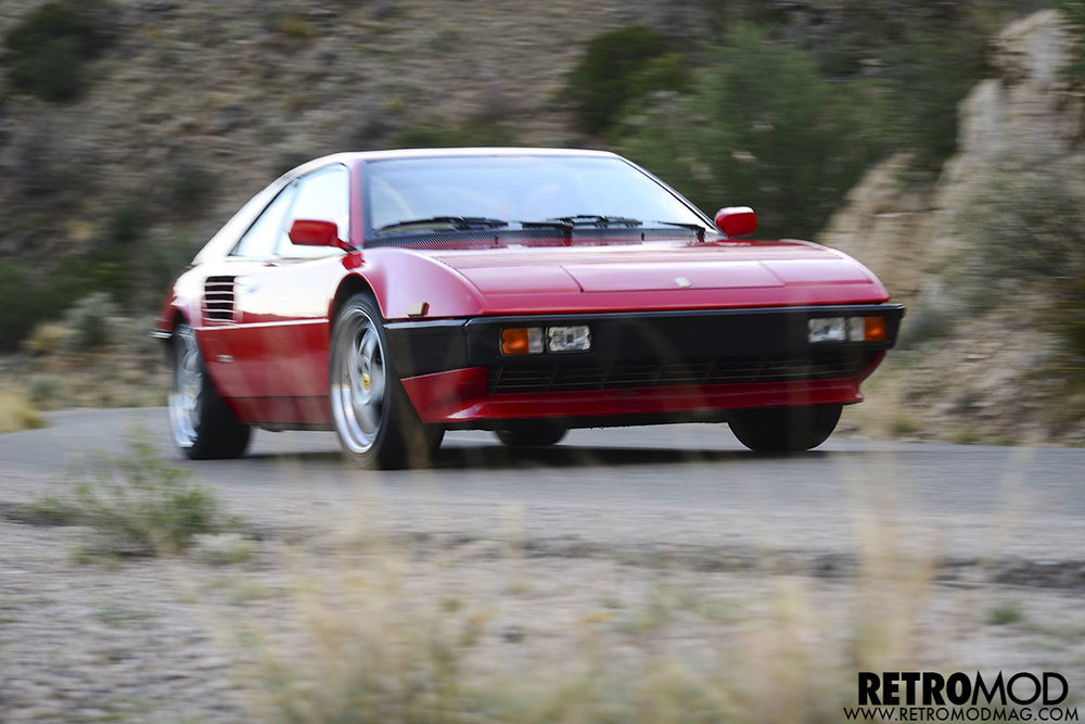 Ferrari Mondial 8 358RR Custom High Performance Engine Rebuild and Chassis Performance Development