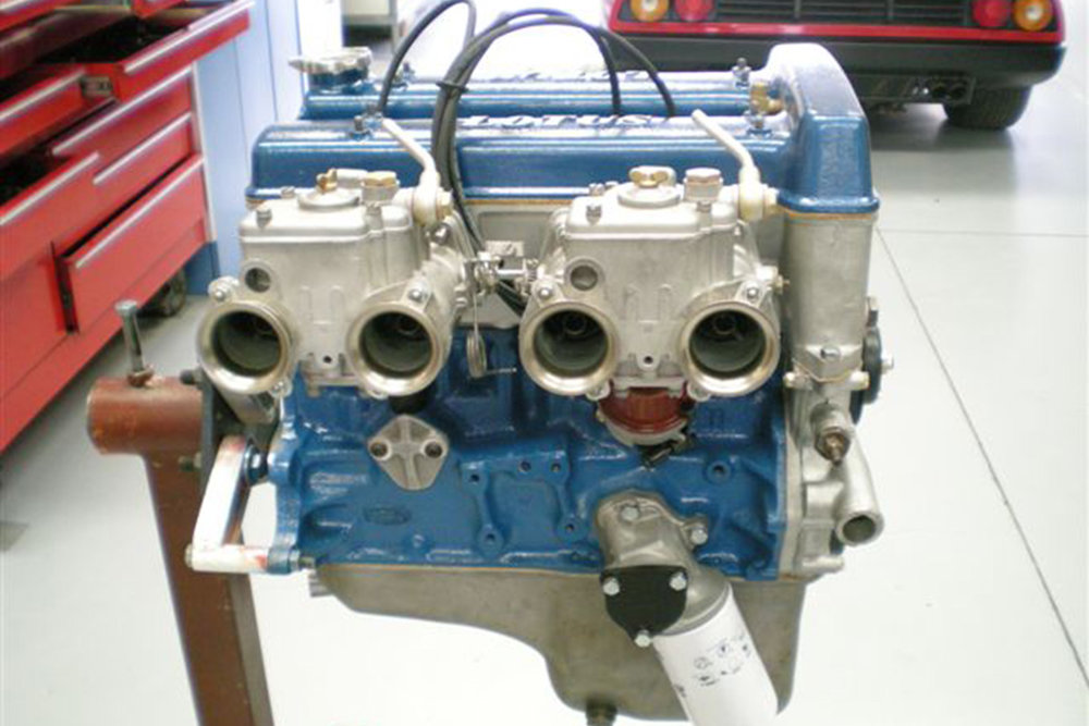 Lotus Elan high performance engine rebuild and development