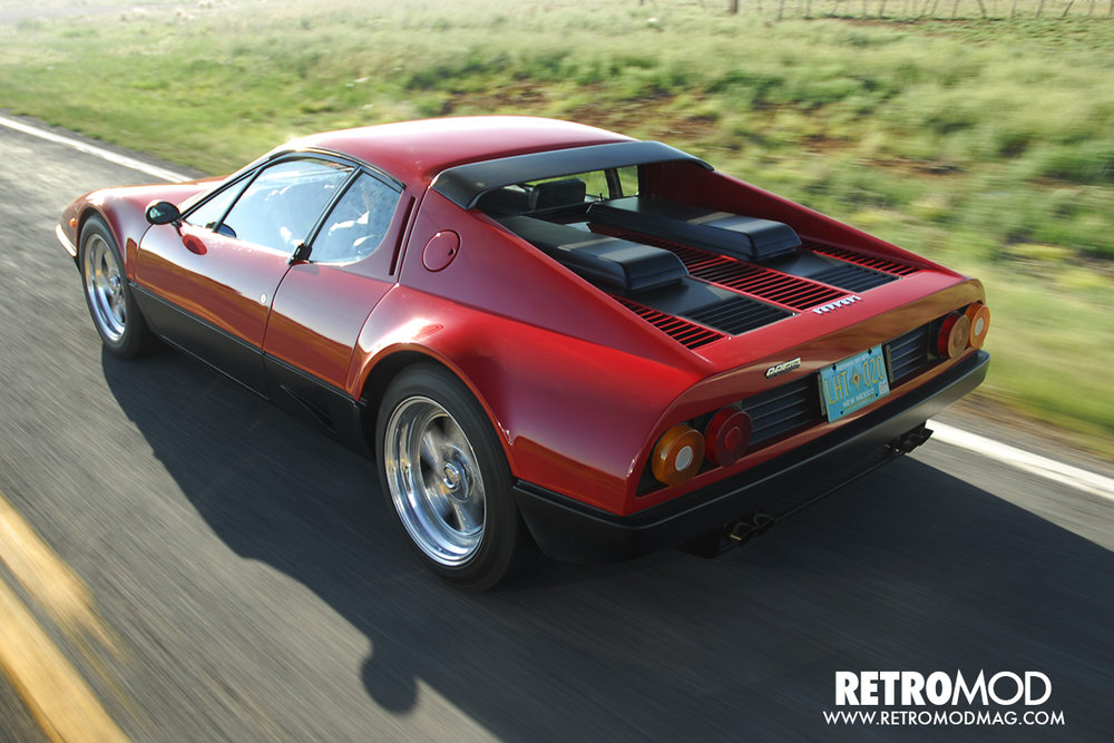 Ferrari 512BB Restomod with high performance rebuilt engine, brakes, wheels and suspension