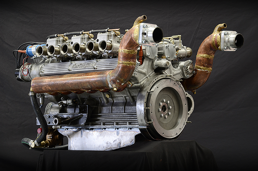 Carobu Engineering Lamborghini Riva V12 High Performance Engine Rebuild and Development