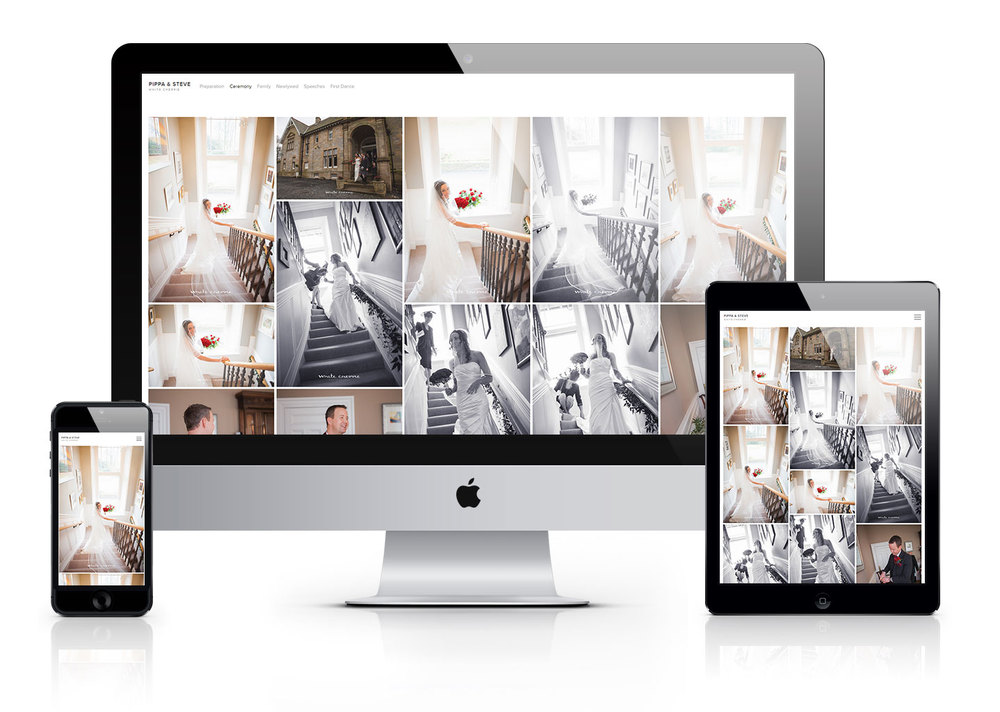 White Cherrie Photography, Wedding photography in Fife, Scotland - Online gallery, Pixieset, Apple, iMac, iPad, iPhone