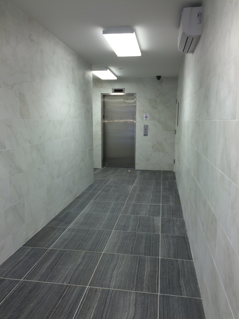 Left-side lobby on 1st floor