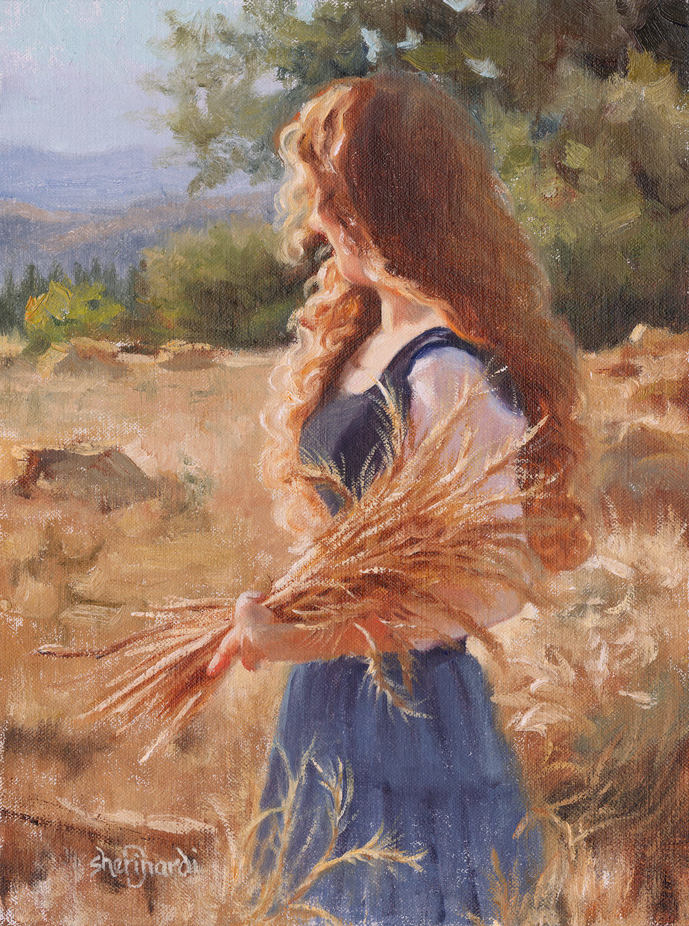Abundant Hope  - 12 x 9Oil on Linen