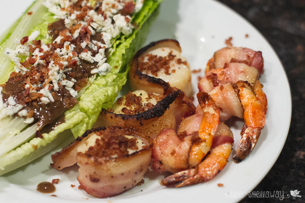 bacon wrapped scallops bacon wrapped shrimp
