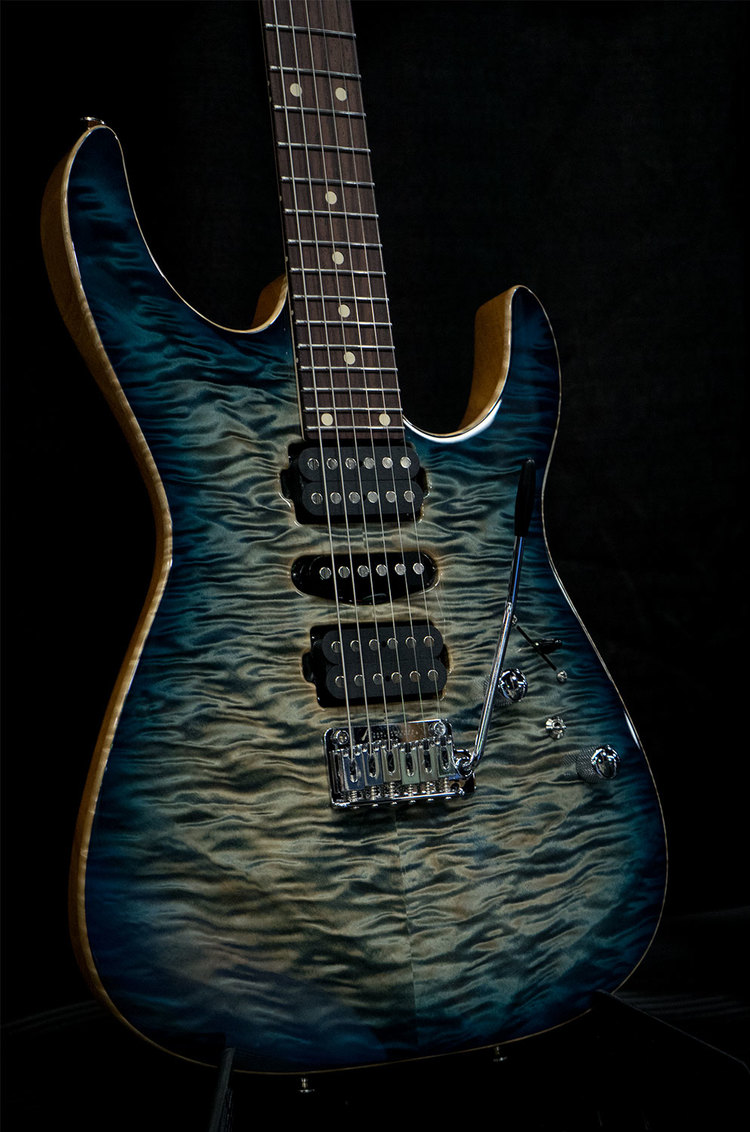 Angel in Arctic Blue Burst