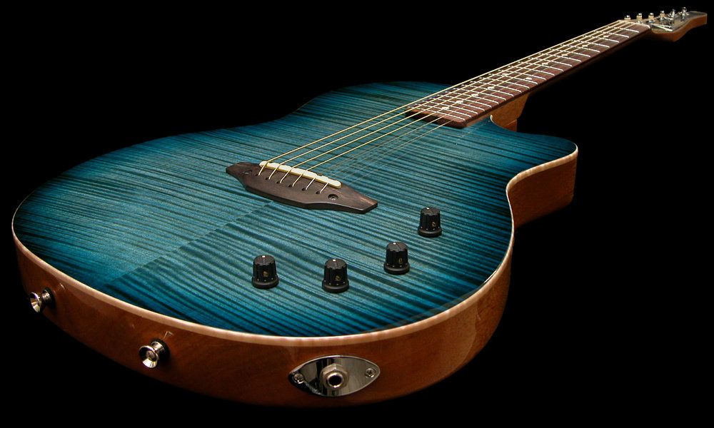 Crowdster in Arctic Blue burst