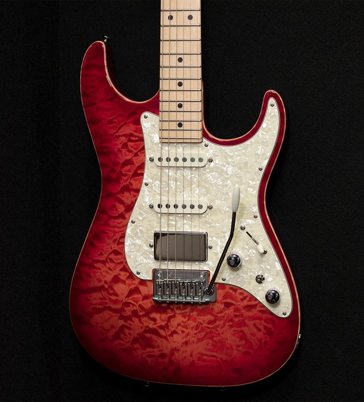 Natural Red Burst