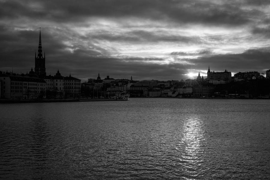 Sunrise in winter,Stockholm Sweden  (2015)