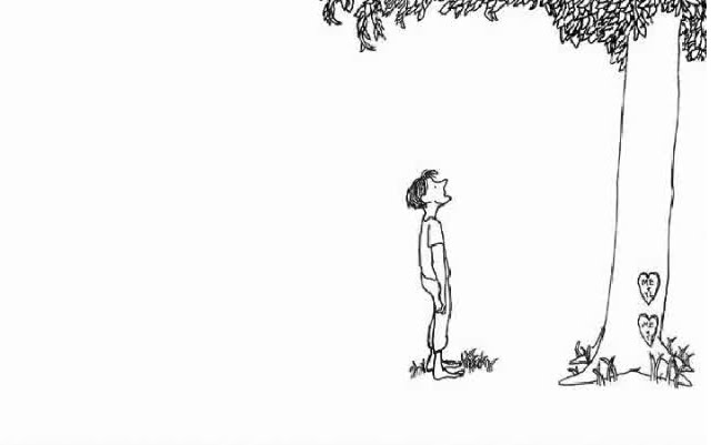 Image from   Shel Silverstein's   The Giving Tree   (1964).