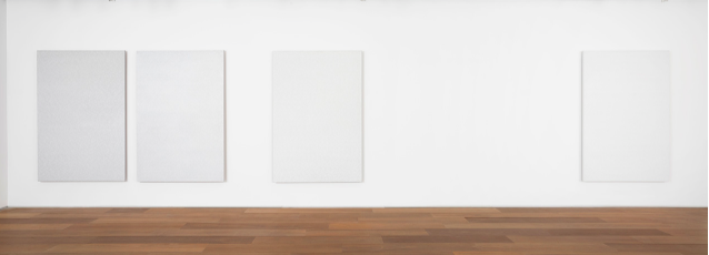 "Installation view of Roman Opalka's ""OPALKA 1965/1 - ∞"""