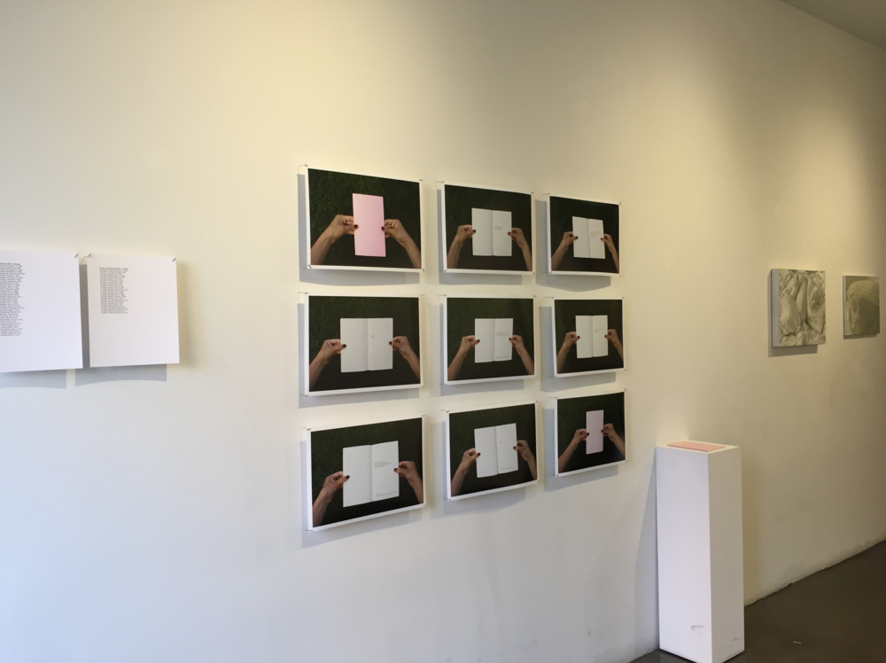 Exhibition View,  Touch of Remembrance , 2015.