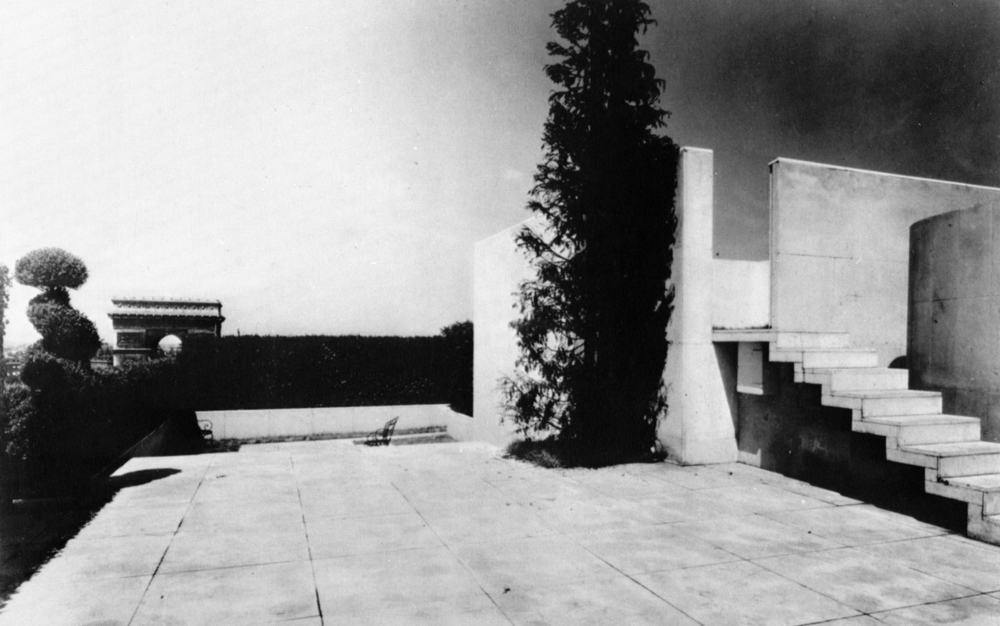 Le Corbusier, surrealist design for Charles de Beitegui's terrace, Champs-Elysées Paris.