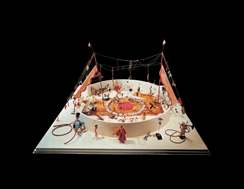 Alexander Calder,  Calder's Circus   , 1926–31, Whitney Museum of American Art, New York.