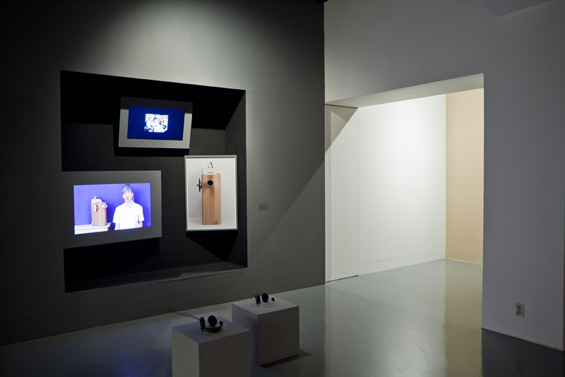 Youngho Lee, Installation View of  ID Photo Studio  (2011)