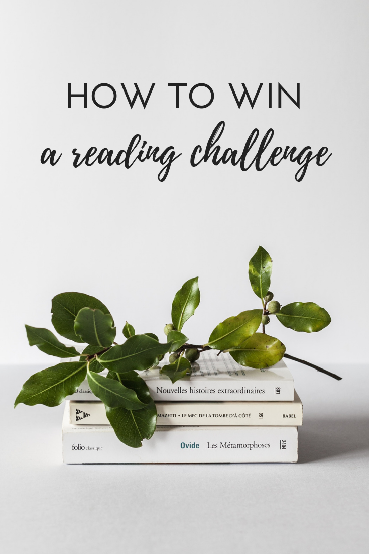 how to win a reading challenge, how to read more