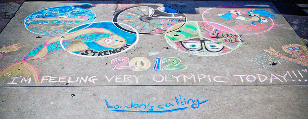 2012  Ojai, CA  Honoring the Olympics
