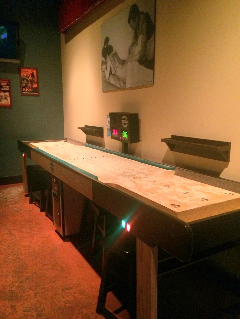 You can play shuffleboard!                                                                                                                                                                                              Photo by Lynne Everson