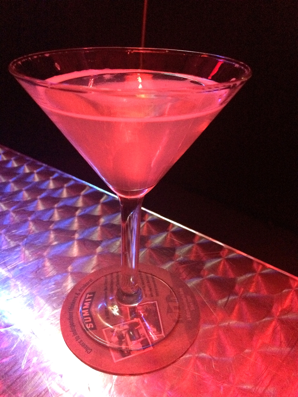 The Pixie Stick Martini.  Wha-what!                                                                                                                                                                                    Photo by Lynne Everson