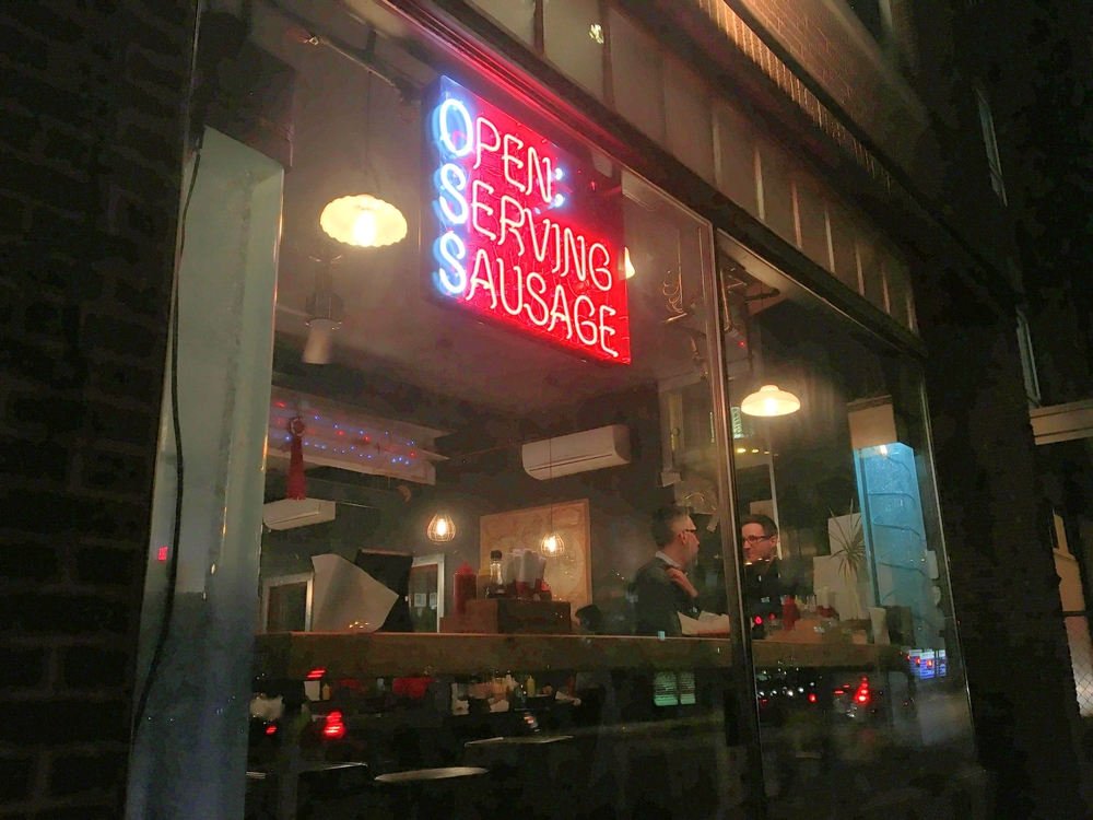 They're Open Serving Sausage!                                                                                                                                                                                       Photo by Epicurean Chronicles
