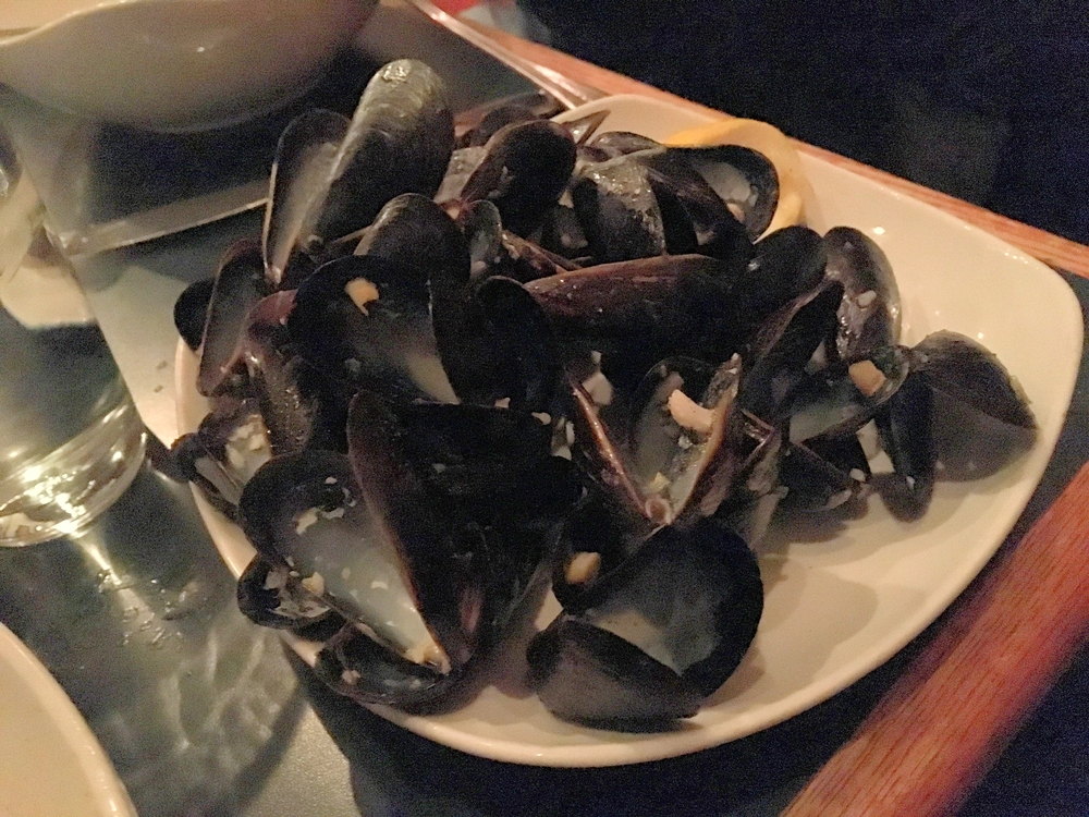totes demolished these mussels                                                                                         photo by epicurean chronicles
