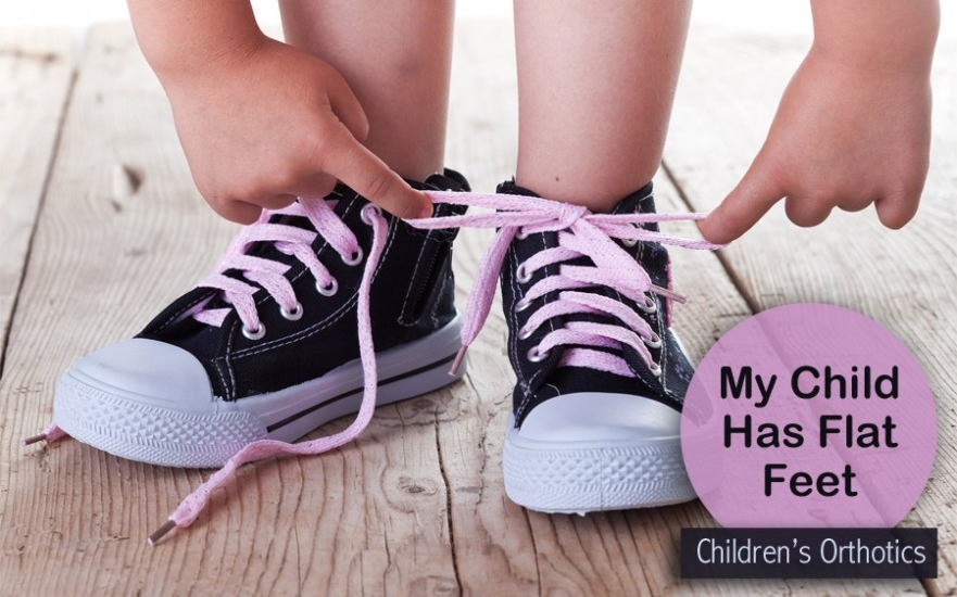 If your child has flat feet - take action early while podiatric intervention can make a permanent difference.