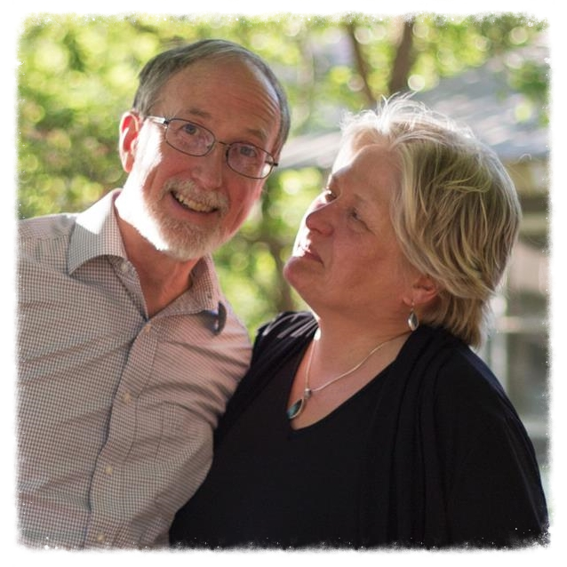 Dan and Beth created their own wedding ceremony in 1981 and enjoy serving as co-officiants.