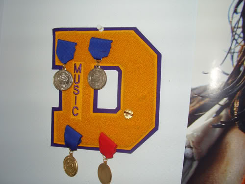 Yes, I lettered in choir, and yes, I hung the letter on my wall next to a poster of Orlando Bloom from Pirates of the Caribbean.