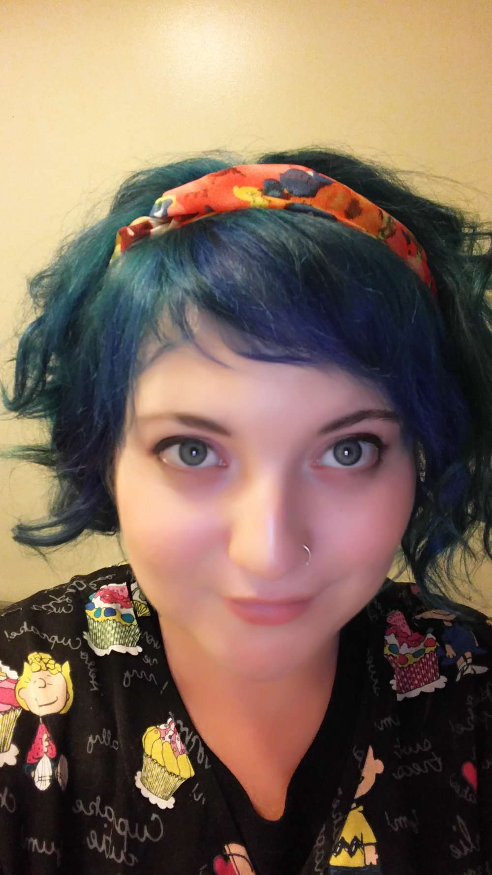 "My crazy hair is my biggest ""I rule, PCOS can bite me"" habit. It changes color monthly!"