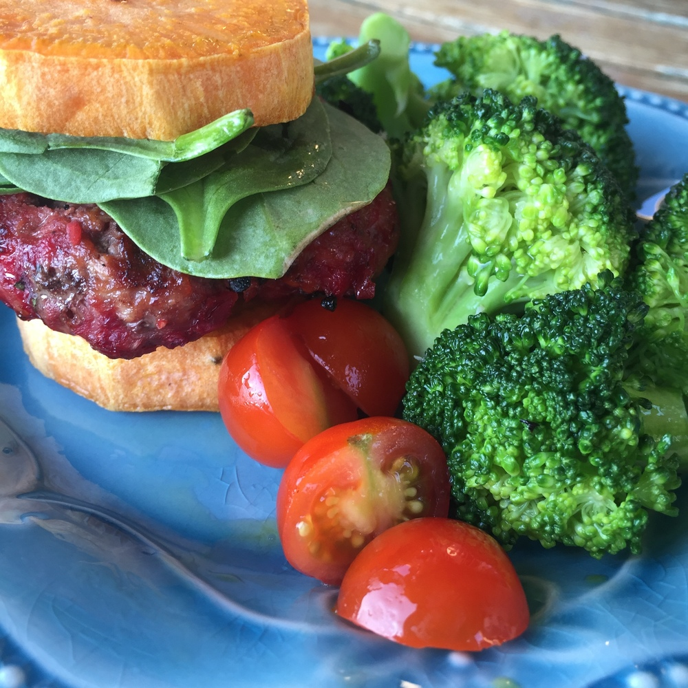 Beet Burgers -- The Holistic Dietitian