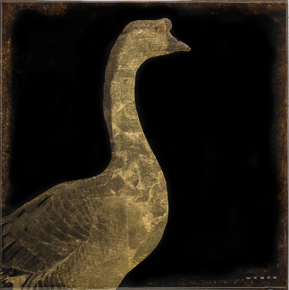 GOLDEN GOOSE, 12 X 12