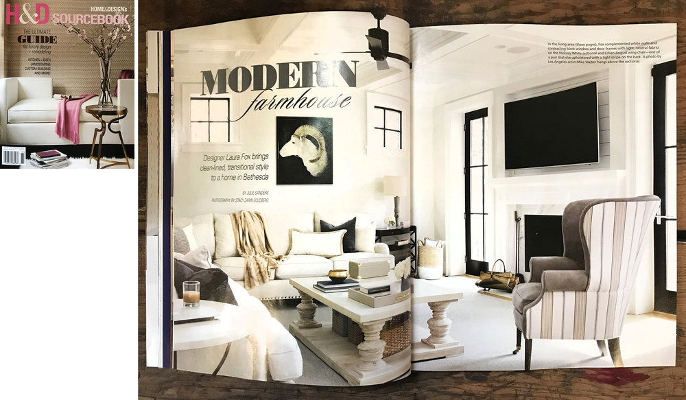 2018 HOME & DESIGN MAGAZINE SOURCEBOOK — MIKE WEBER