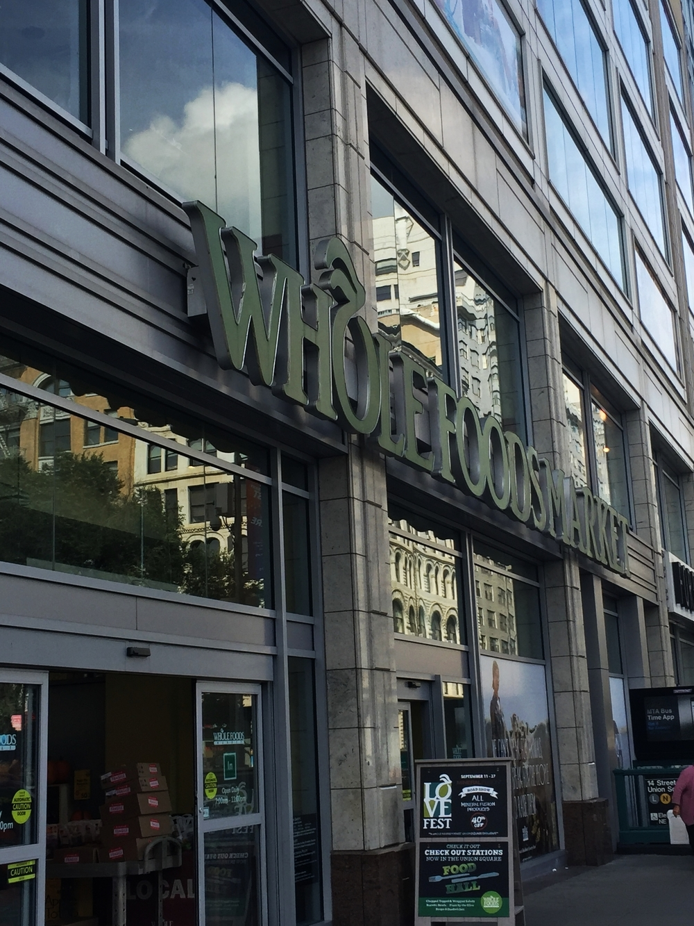 Whole foods on 14th street