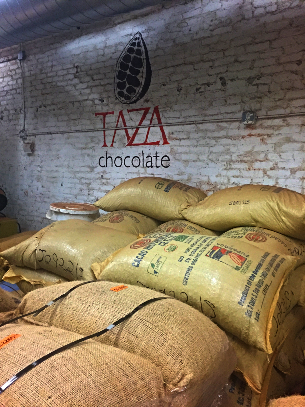 Packages and packages and packages of cocoa
