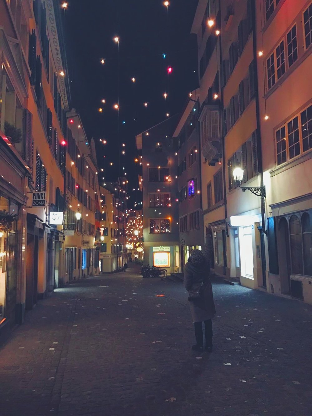 Admiring what Zurich has to offer