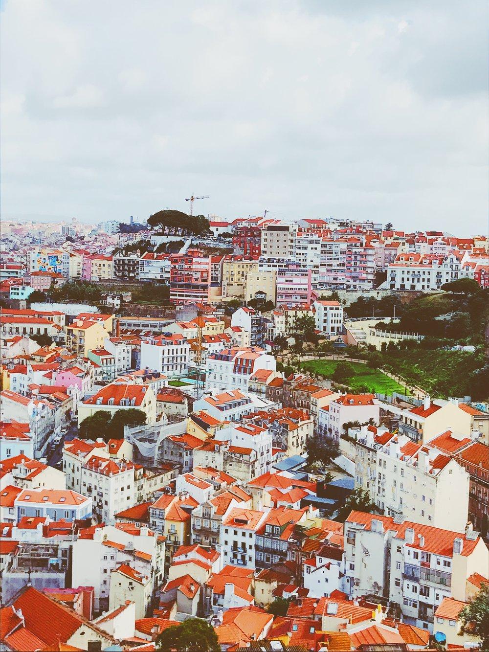 Lisboa- Castelo de São Jorge