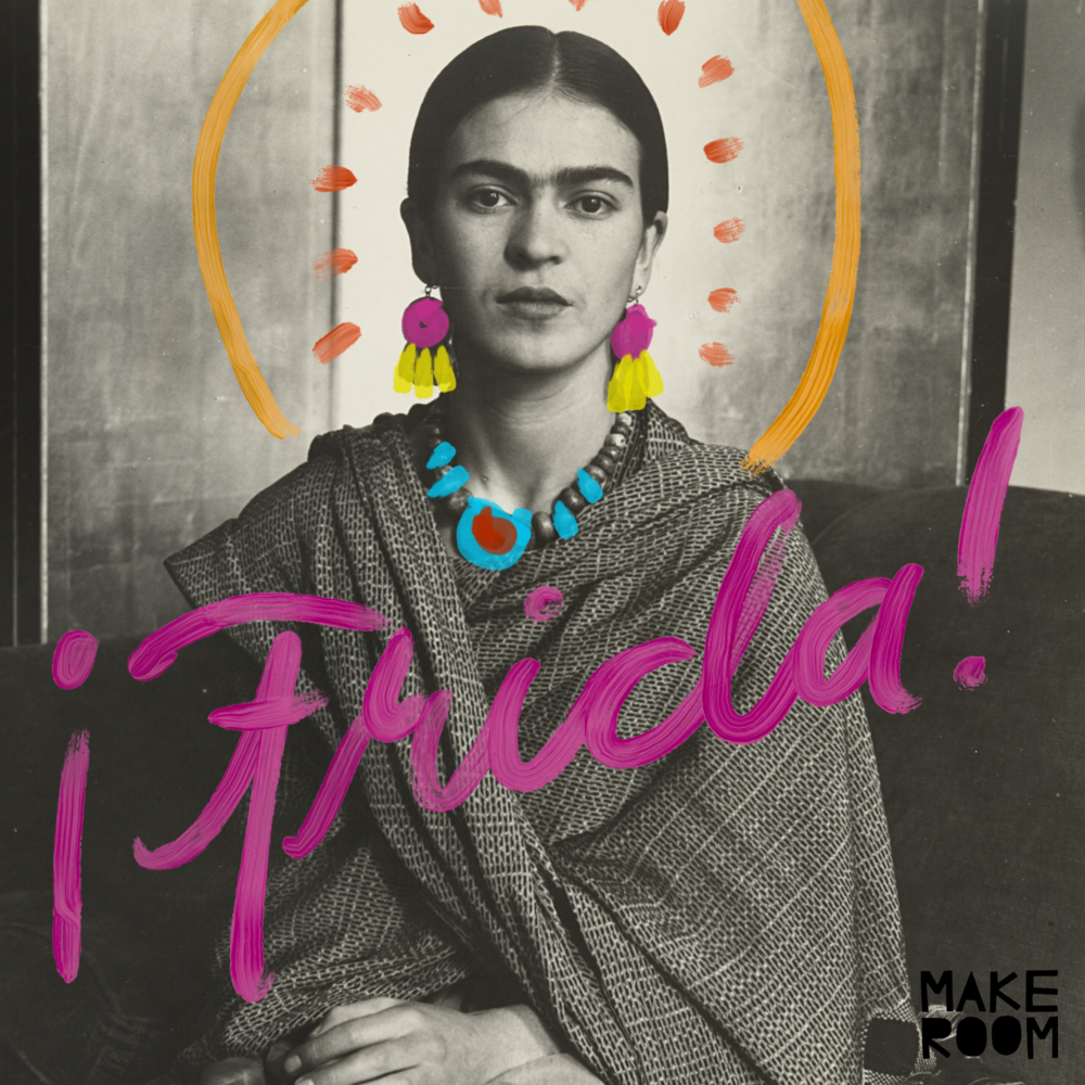 The queen of selfies - Frida Kahlo's art is beloved throughout the world for her unique self portraits, often involving plants, animals, and elaborate dream-like settings. Students in November's Studio Art for Kids will get to know the work and life of Frida while exploring a variety of art mediums during 4 weekly 90-minute class sessions!