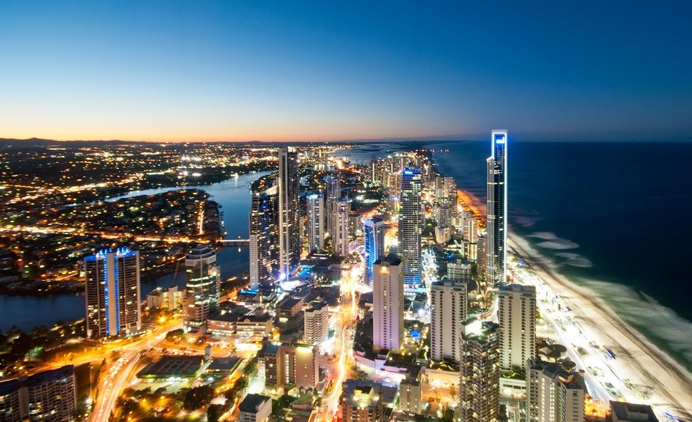 Surfers Paradise and Broadbeach - the so called 'glitter strip' - are suburbs I'd recommend avoiding, with ongoing issues of oversupply and limited owner-occupier demand.
