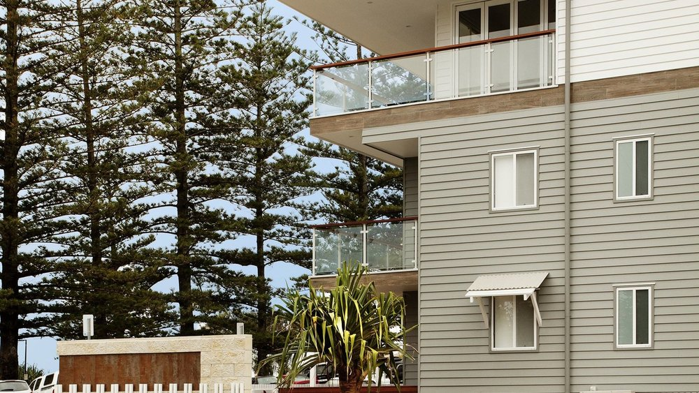 There are numerous properties on or the near the coast which are ripe for renovation or re-development.  Photo Courtesy of Destination Gold Coast