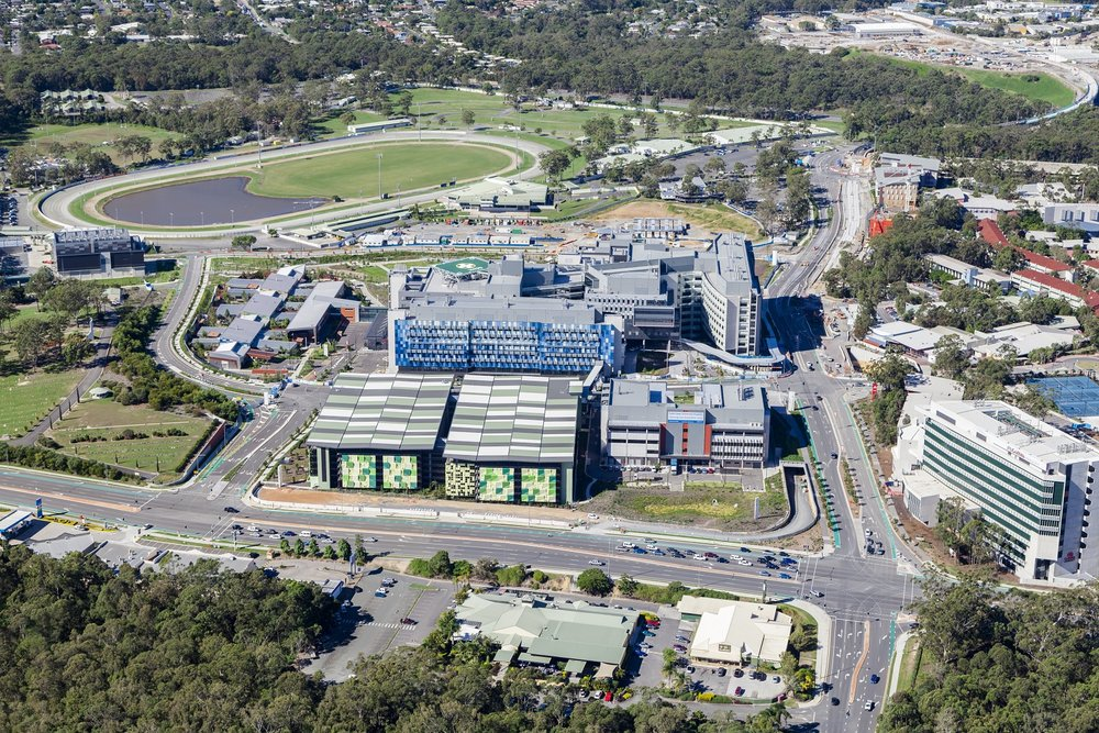 The new Gold Coast University Hospital is one component of the infrastructure boom on the coast.