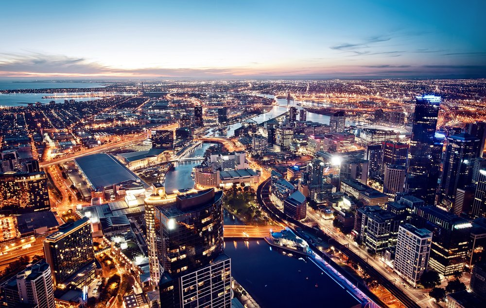 Australia's capital cities and regional centres linked to them are forecast to grow strongly in population and jobs in the future, driving property construction and putting pressure on scarce land.