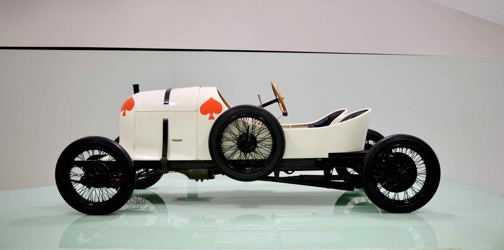 "1922 ""Sascha"", a lightweight 50HP race car that was revolutionary during its time"