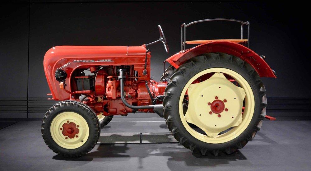 Porsche's origins: 5-speed, diesel tractor