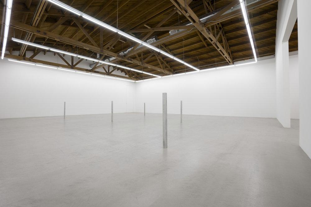 Installation view, Anne Truitt / Daniel Turner , Parrasch Heijnen Gallery 2018