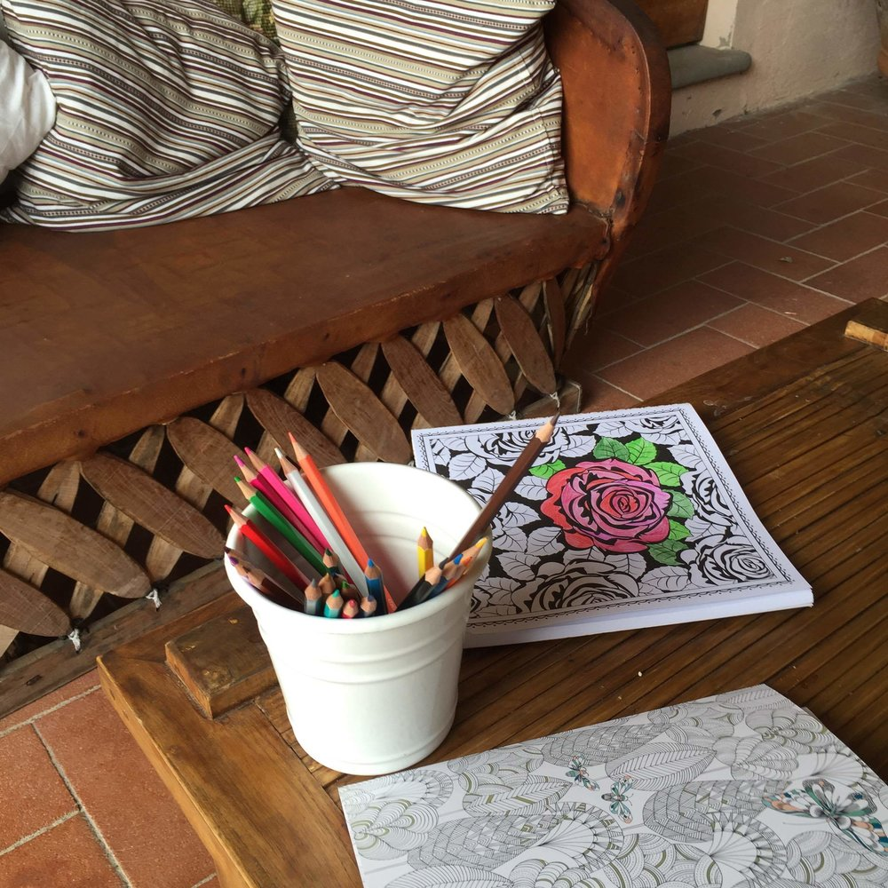 MINDFULNESS COLOURING BOOKS