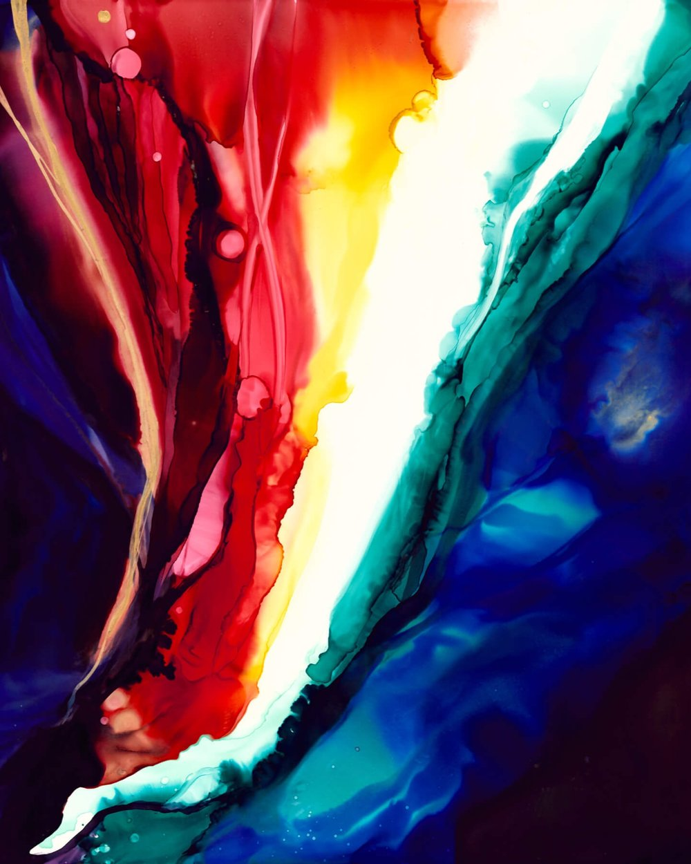 SYNESTHESIA COLLECTION  A continuously growing collection of visual music, including depictions of Radiohead, Moses Sumney, Animal Collective, and Shostakovich.