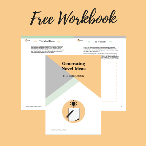 A free workbook designed to help you get those ideas from your mind out onto the page, and get that perfect story idea!